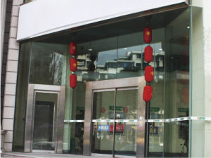 Automatic Sliding Door with Electric Motor pictures & photos