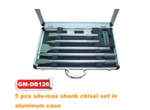 5 PCS SDS-Max Shank Chisel Set (GM-DB126) pictures & photos