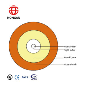 4 Core Single Mode Round Optical Fiber Cable pictures & photos