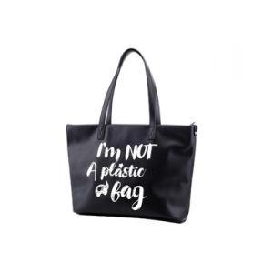 Best Selling Unique Doodle Tote Bag Ladies PU Handbag Wzx1099 pictures & photos