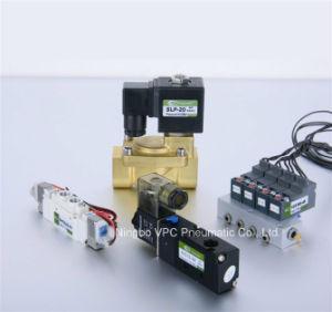 Airtac Pneumatic Manual Control Valve Hand Push Valve pictures & photos