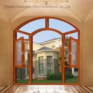 Heat Insulation Thermal Break Aluminum Casement Window (FT-W135) pictures & photos