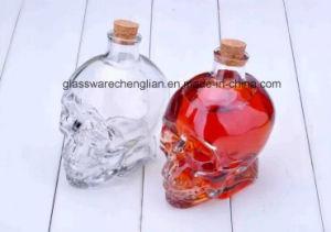 Skull Glass Wine Bottles (J-06) pictures & photos
