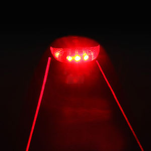 LED Laser Safety Bicycle Rear Tail Lights pictures & photos