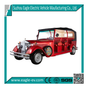 Electric Car, 9 Seat, Luxury Design, 48V 4kw, Trojan Battery, Curtis Controller, pictures & photos
