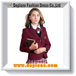 Girls School Uniform Blazers with Adult (CU005)
