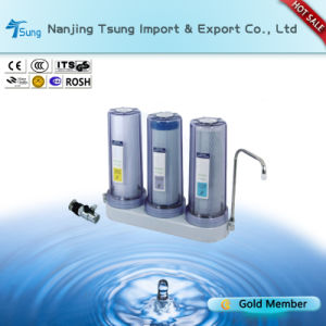 Counter Top 2 Stages Water Filter with Stainless Valve Ty-CT-C3 pictures & photos