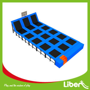 Rectangular Trampoline with Basketball Hoop pictures & photos