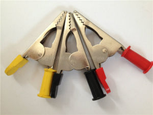 20A High Quality Copper Clip PVC Boot Battery/Alligator Clip (RJ-Y30) pictures & photos