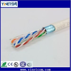 High Speed Transmission 23AWG 4pair LSZH FTP Cat 6 LAN Ethernet Cable pictures & photos