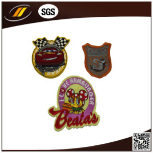 New Fashion 3D Indian Embroidery Patch Logos pictures & photos