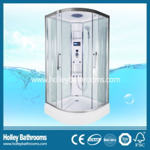Hot Selling Computer Display Shower Cubicle with Glass Shelf (SR213B)