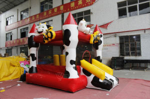 Cow Commercial Jumping Castle Inflatable Bouncer for Kids Chb738 pictures & photos