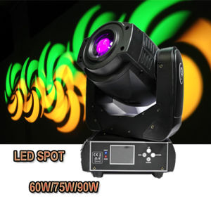 60W/75W/90W Stage Disco Lighting LED Spot Moving Head pictures & photos