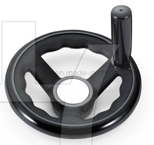 2016 Black Super Reinforeced Nylon Handwheel with Finger Gears pictures & photos