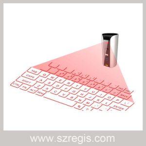 Slim Multimedia Gesture Laser Virtual Wireless Bluetooth Keyboard pictures & photos