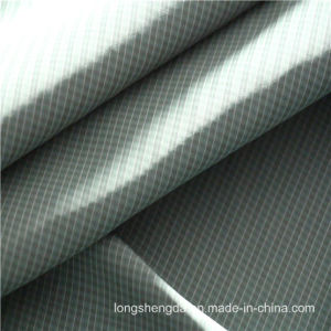 40d Woven Twill Plaid Plain Check Oxford Outdoor Jacquard 100% Polyester Fabric (X045) pictures & photos