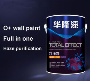 Hualong EU En71-9 Standard Negative Ion Wall Paint pictures & photos
