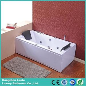 Economical Massage Bathtub Price with 2 Pillows (TLP-658 computer control) pictures & photos