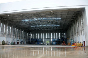 Steel Space Frame Roofing Aircraft Hangar pictures & photos