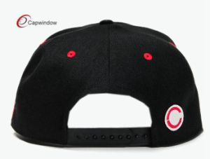 Fashion Snapback Hat with 3D Embroidery Logo pictures & photos