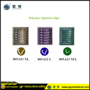 Laparoscopic Polymer Hemolok Clips pictures & photos