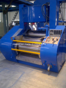 PLC Control Hydraulic Three Roll Mill with Special Hard Alloy Roller for Ink, Pigment, Chocolate, Paste pictures & photos