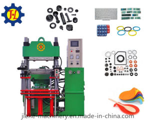 Single Station Rubber Silicone Keyboard Plate Vulcanizing Press Machinery Made in China pictures & photos