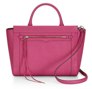 Graceful Leather Tote Bag Lady Handbag (LDO-15087) pictures & photos