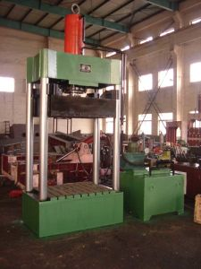 Carboard Vertical Hydraulic Press Baler Machine (FYD-350A) pictures & photos