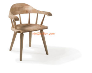 (SL-8105) Modern Hotel Restaurant Dining Furniture Solid Wood Chair Wooden Dining Chair pictures & photos