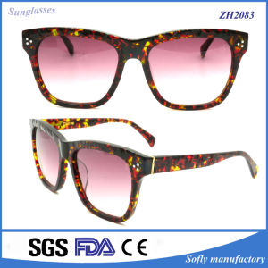 High End Acetate Combine Wooden High Quality Sunglasses pictures & photos