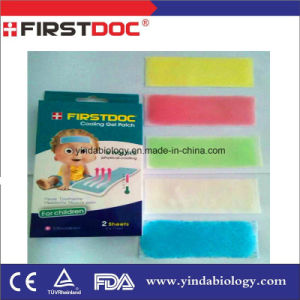 Medical Product First Doc Hot Sale Cooling Patch, Fever Cooling Patch, Cooling Gel Patch pictures & photos