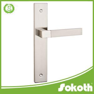 New Model Simple, Classical Aluminum Door Handle, Lever Door Handle pictures & photos