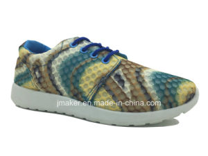 Ladies Sports Shoe with PVC Injection Sole (J2283-L)
