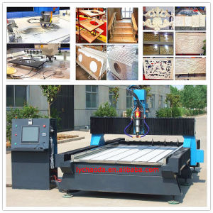 Stone Edge Profile Router Machine / 5 Axis CNC Stone Cutting & Milling Machine pictures & photos