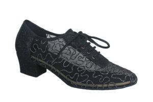 Women′s Cha-Cha/Salsa/Tango/Latin Dance Practice Shoes pictures & photos