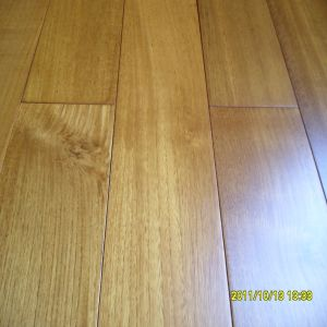 High Stability Good Price Burma Teak Solid Wooden Flooring pictures & photos