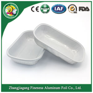 Aluminum Foil Containers for Airline Taking Food pictures & photos