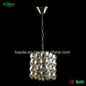Factory Single E27 One Lights Classic Living Room Light Crystal Chandelier Pendant Light for Sale pictures & photos