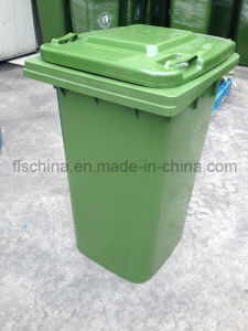 360L Plastic Dust Bin with Virgin HDPE Material for Outdoor Use pictures & photos