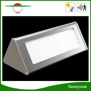 1000lm Microwave Radar Motion Sensor Aluminium LED Solar Garden Light pictures & photos