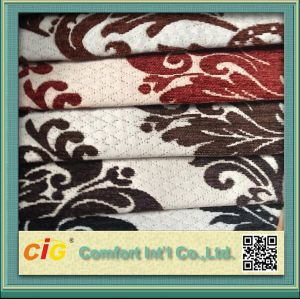Chinese Polyester Material Jacquard Chenille Fabric for Middle East Market pictures & photos