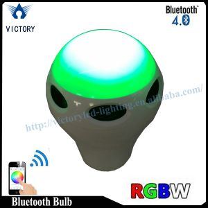 Best Price Cool White Bluetooth bulb Speaker E26 E27 LED Lamp pictures & photos