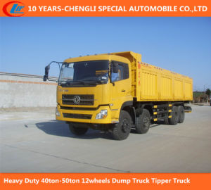 Heavy Duty 40ton-50ton 12wheels Dump Truck Tipper Truck pictures & photos