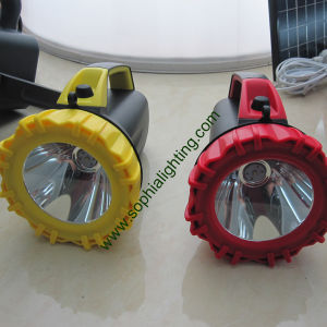 CREE LED Rotating Marine Search Light/ Rechargeable Hand Hold Waterproof LED Flashlight pictures & photos