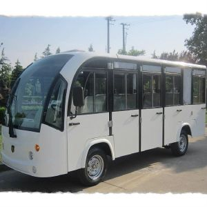 14 Passenger Electric Enclosed Sightseeing Bus by Marshell (DN-14C) pictures & photos