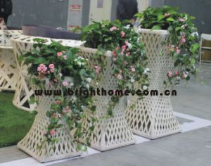 Wicker Rattan Outdoor Planter Pot Garden Products Bp-F08 pictures & photos