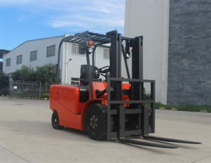Battery 4-Wheel Electric Forklift pictures & photos