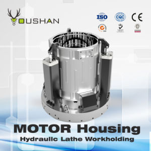 Motor Housing Hydraulic Lathe Fixture pictures & photos